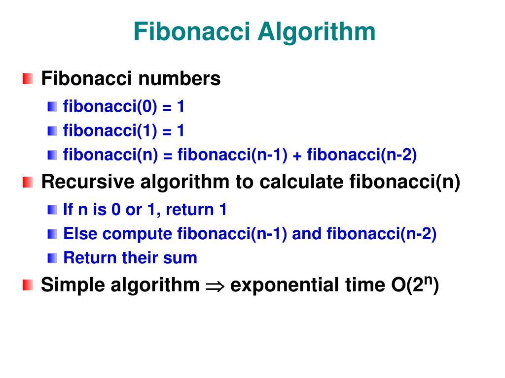 Fibonacci Algorithm