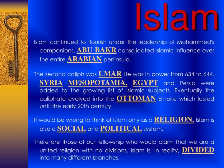 influence of islam on leadership Because of possessing great leadership capabilities, he (pbuh) was chosen as having the honor of being the last prophet of the almighty, and is said to be it is probable that the relative influence of islam has been larger than the combined influence of jesus christ and st paul on christianity.