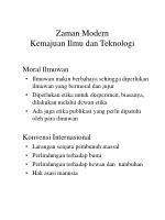 zaman modern kemajuan ilmu dan teknologi76