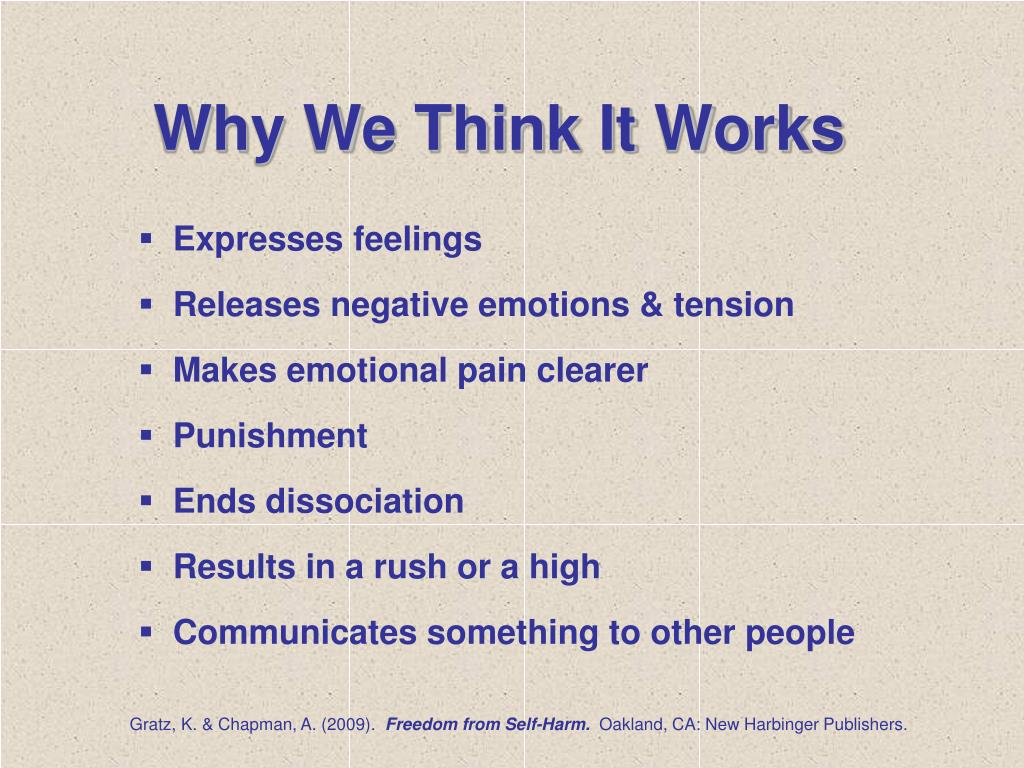 Why We Think It Works