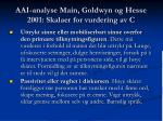 aai analyse main goldwyn og hesse 2001 skalaer for vurdering av c