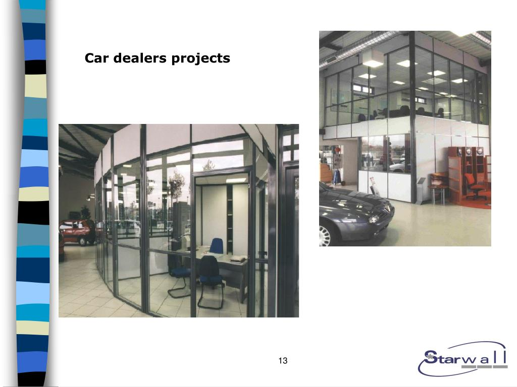 Car dealers projects