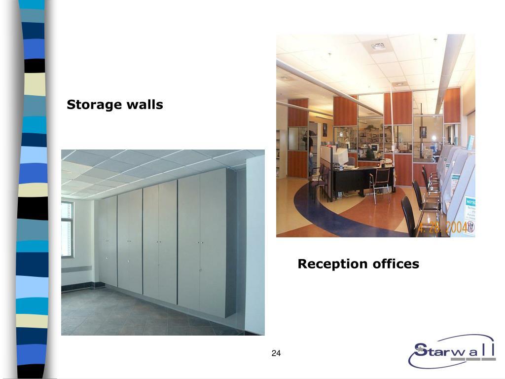 Storage walls
