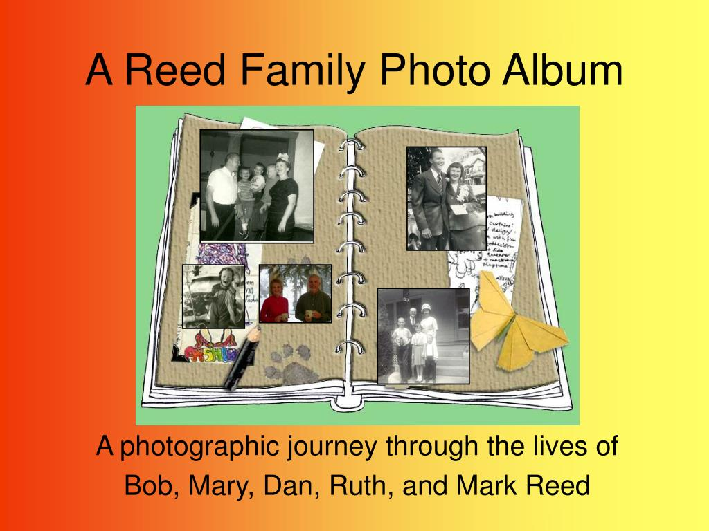 a reed family photo album l.