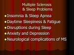 multiple sclerosis sleep problems8