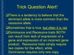 trick question alert