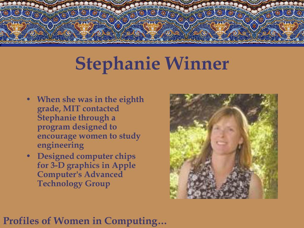 Stephanie Winner
