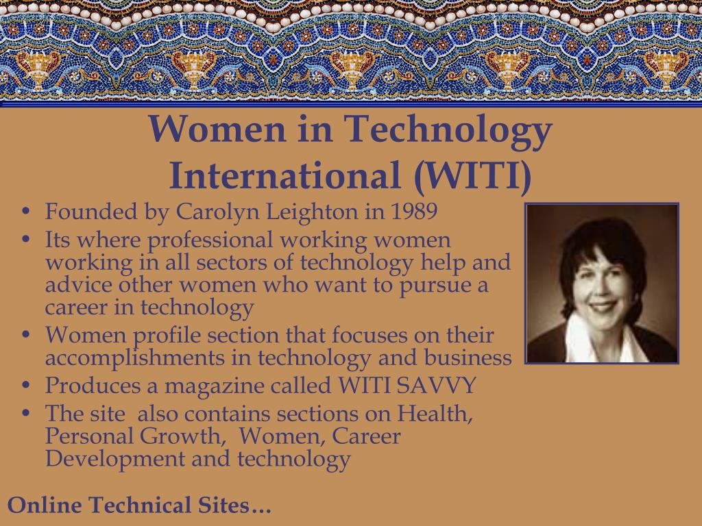 Women in Technology International (WITI)