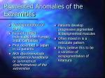 pigmented anomalies of the extremities
