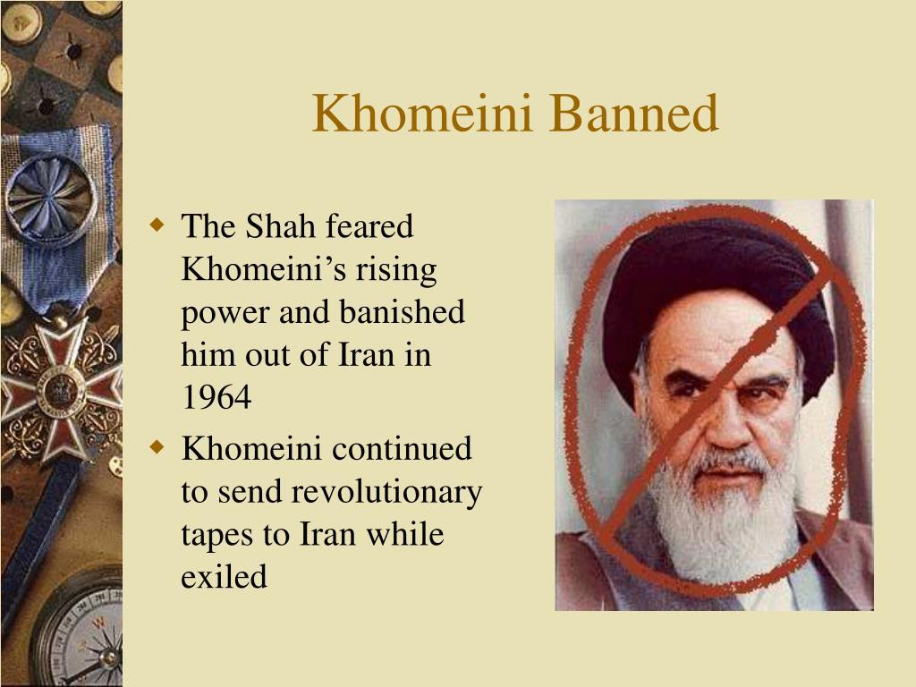 Khomeini Banned