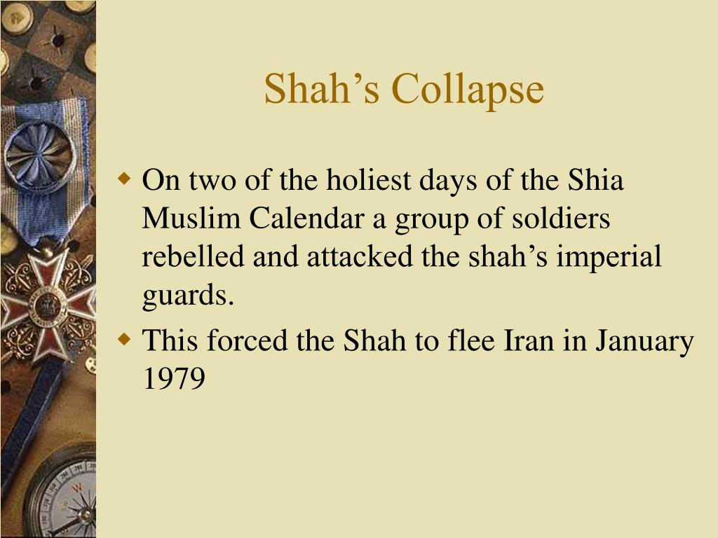 Shah's Collapse