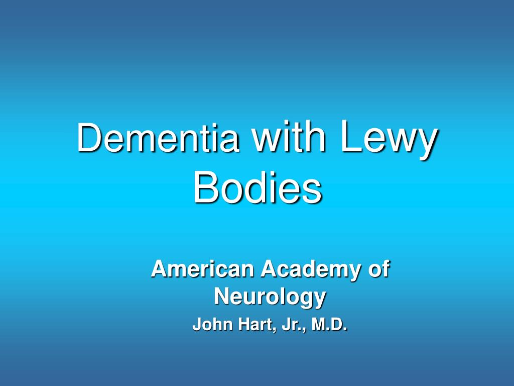 dementia with lewy bodies l.