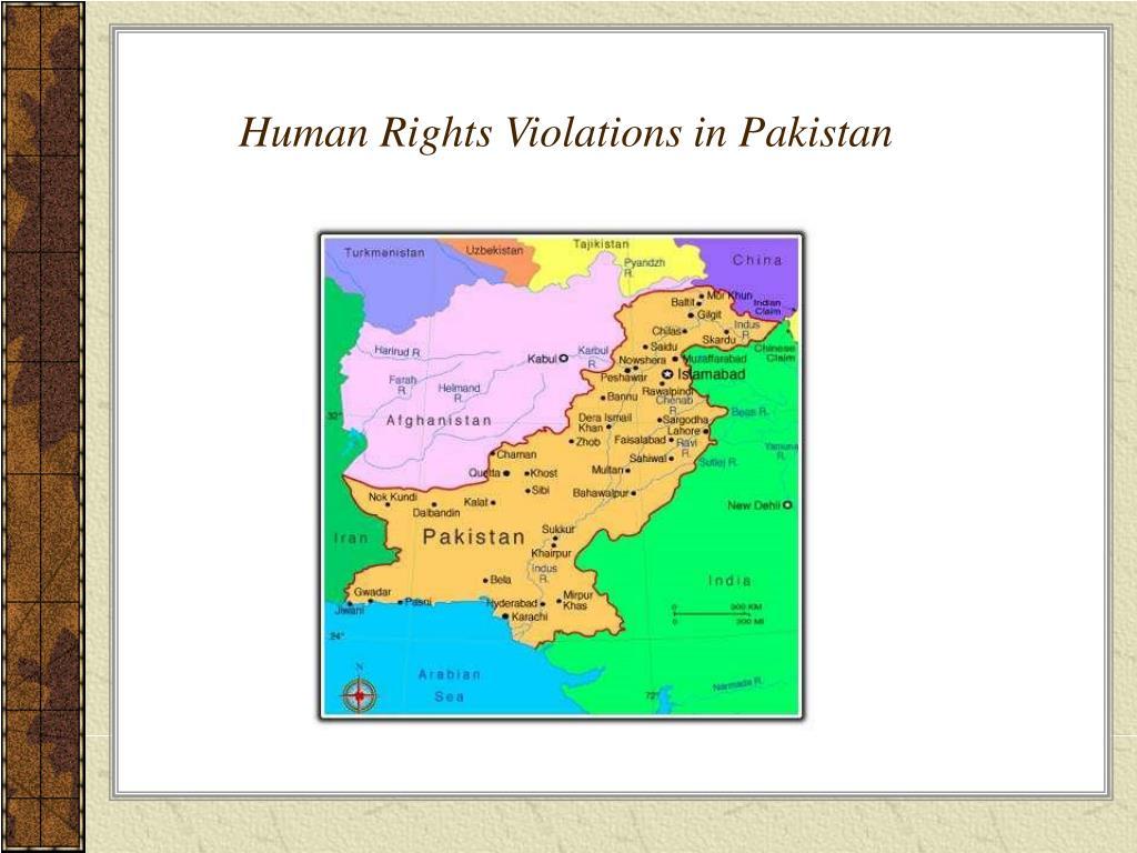 Human Rights Violations in Pakistan