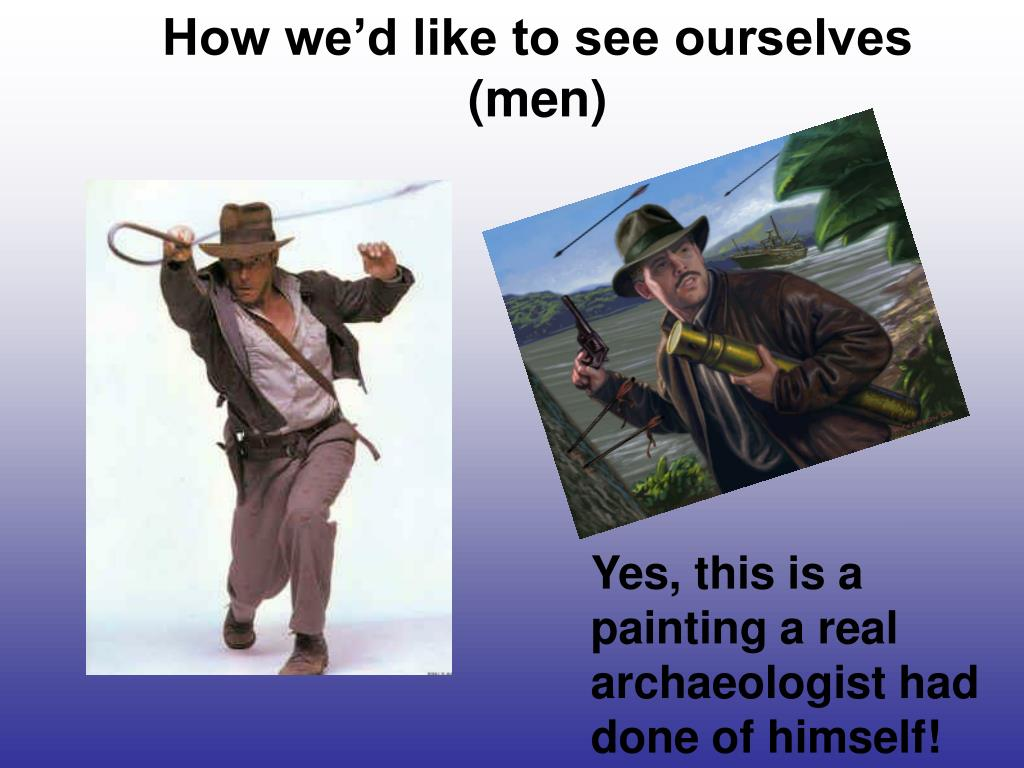 How we'd like to see ourselves (men)