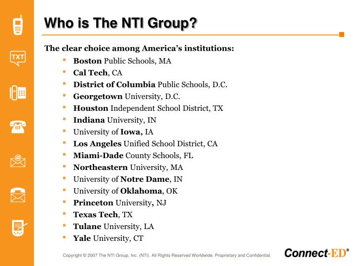 Who is the nti group3
