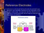 reference electrodes