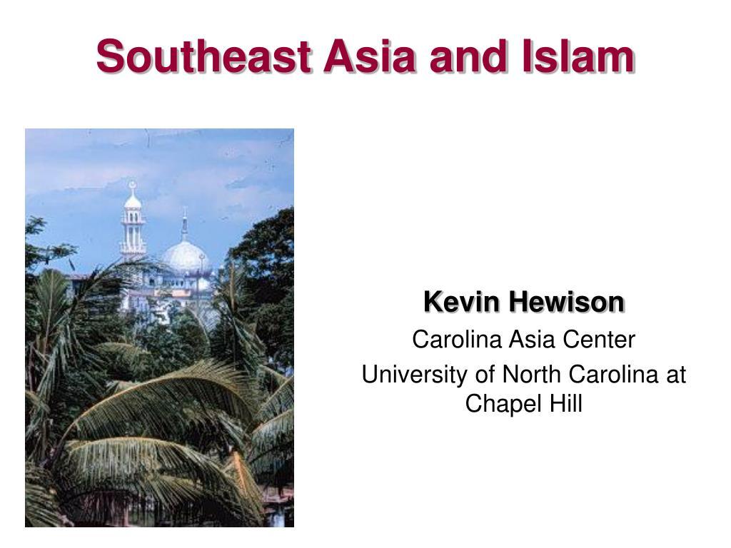 southeast asia and islam l.