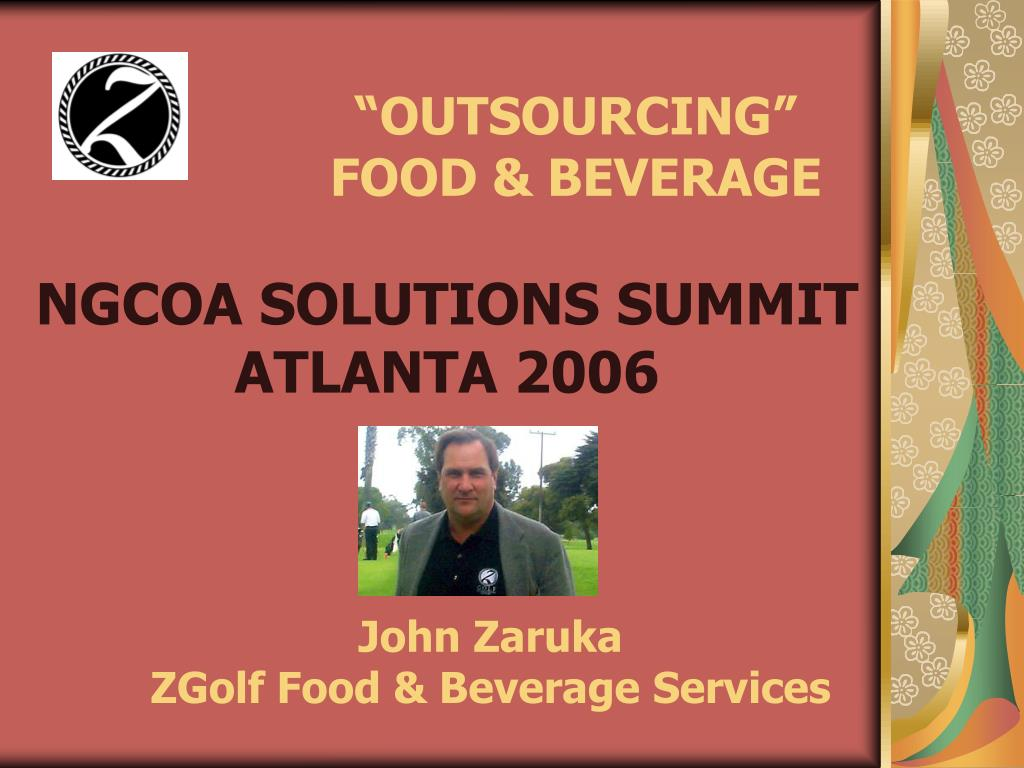 outsourcing food beverage l.