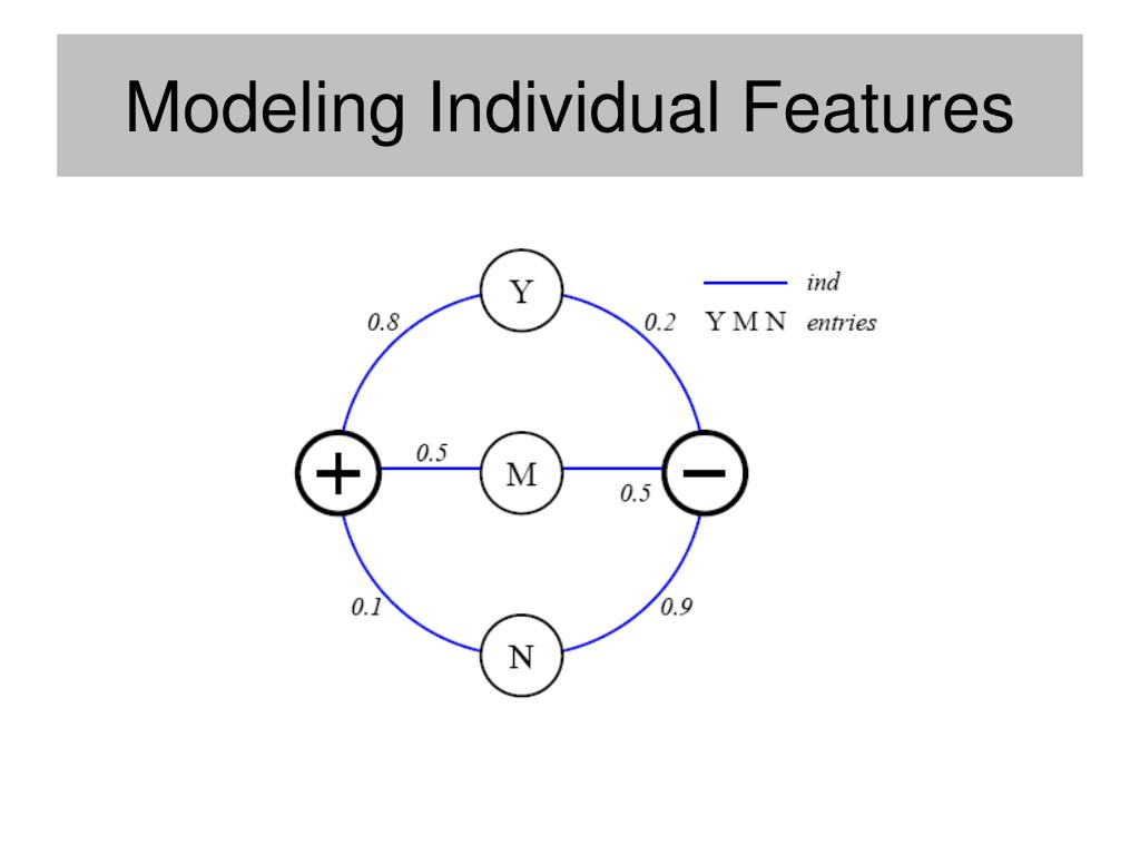 Modeling Individual Features