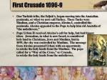 first crusade 1096 9