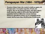 paraguayan war 1864 1870