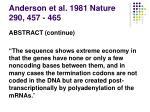 anderson et al 1981 nature 290 457 4658