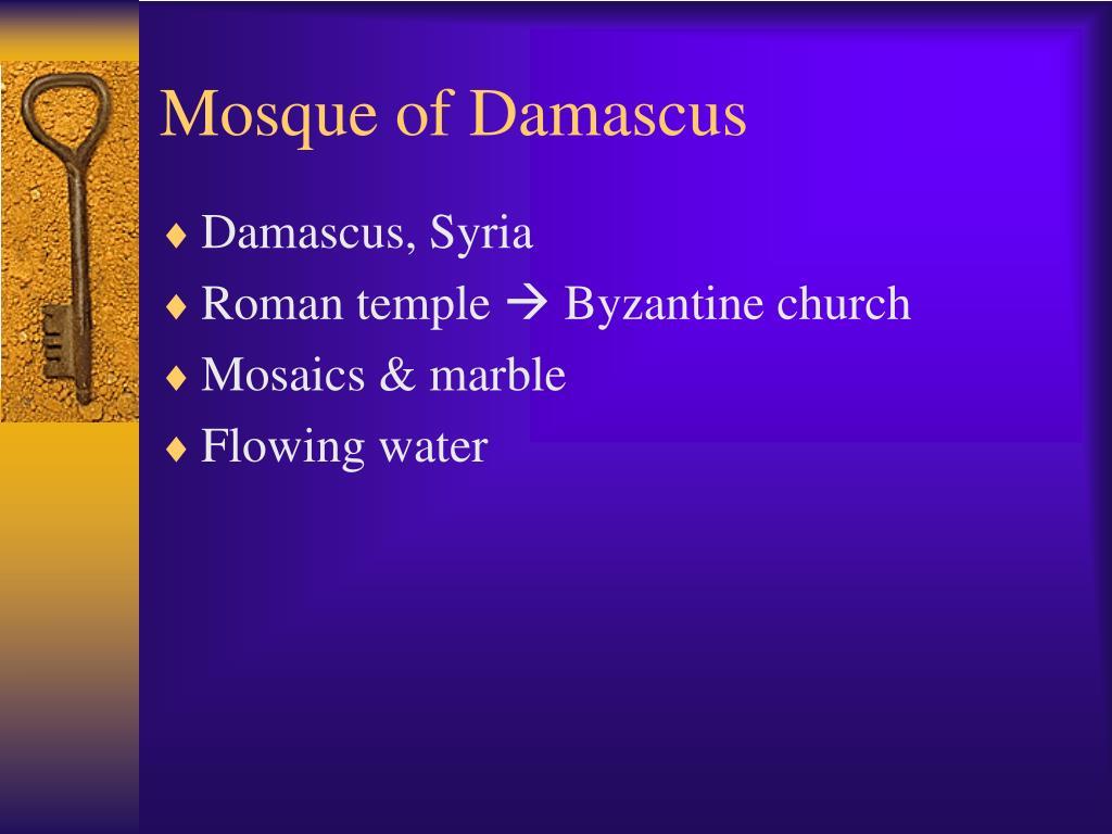 Mosque of Damascus