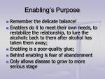 enabling s purpose
