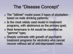 the disease concept
