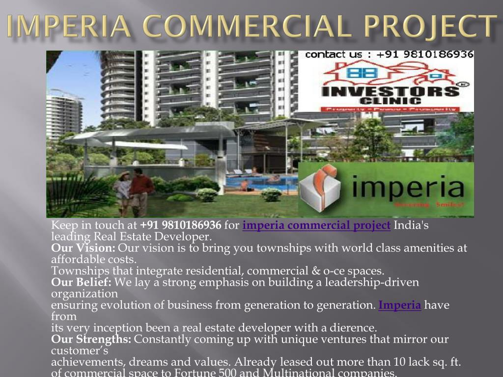 imperia commercial project l.