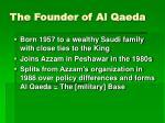 the founder of al qaeda
