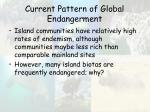 current pattern of global endangerment45