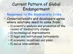 current pattern of global endangerment50