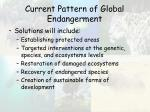 current pattern of global endangerment51