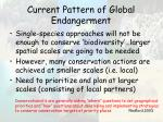 current pattern of global endangerment52