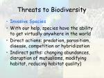 threats to biodiversity6