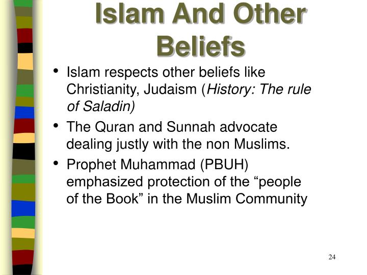 Islam And Other Beliefs