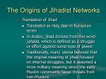 the origins of jihadist networks3
