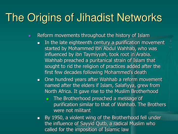 The Origins of Jihadist Networks