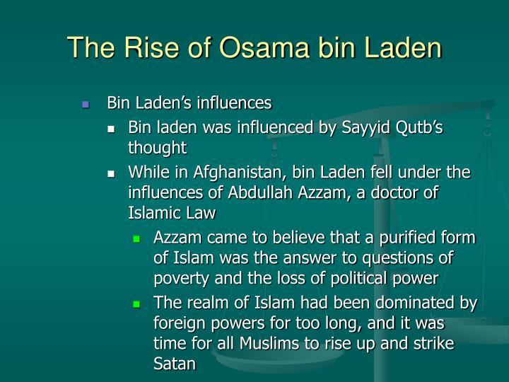 The Rise of Osama bin Laden
