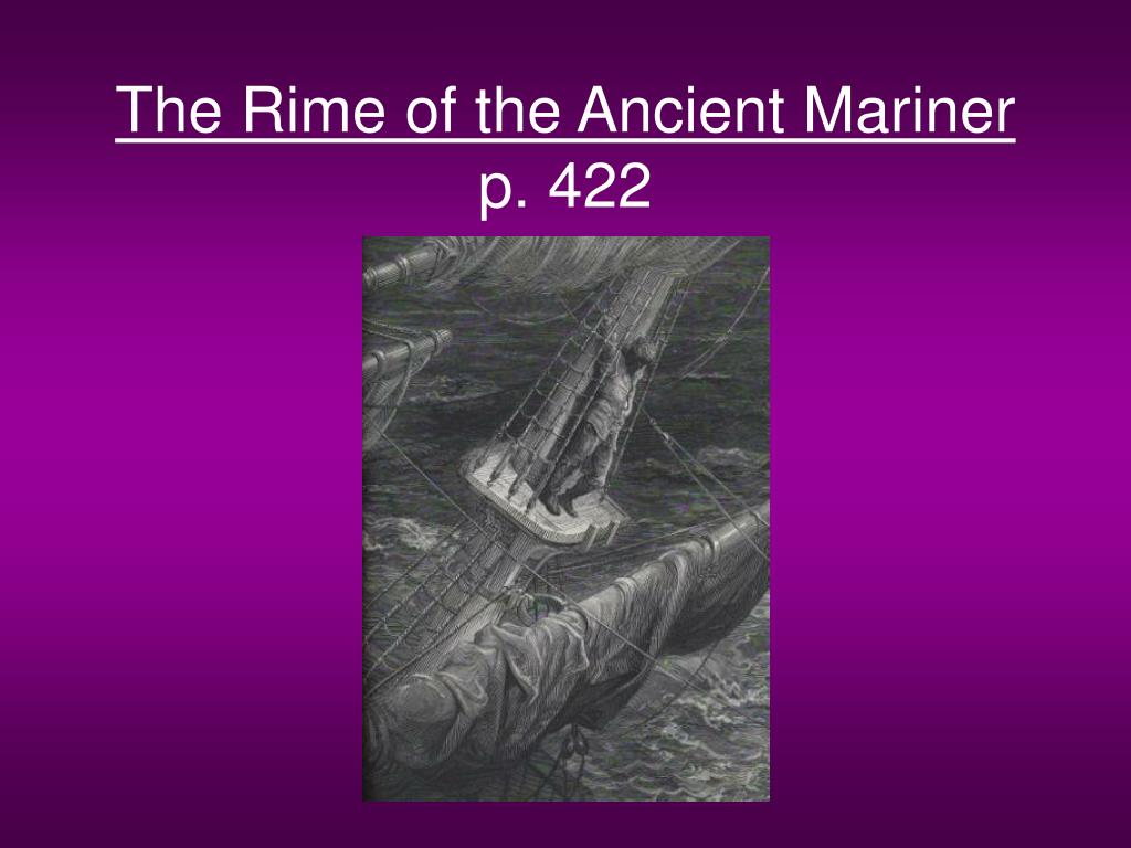the rime of the ancient mariner p 422 l.