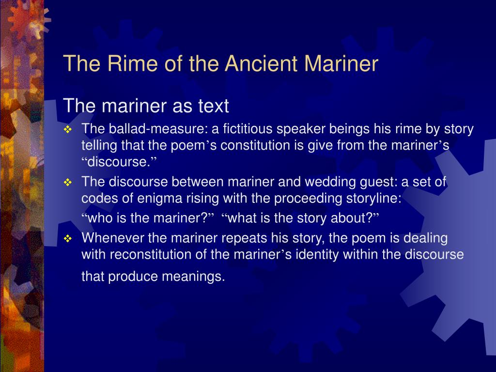 the rime of the ancient mariner l.