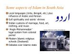 some aspects of islam in south asia