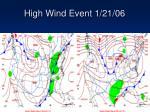high wind event 1 21 06