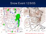 snow event 12 9 05