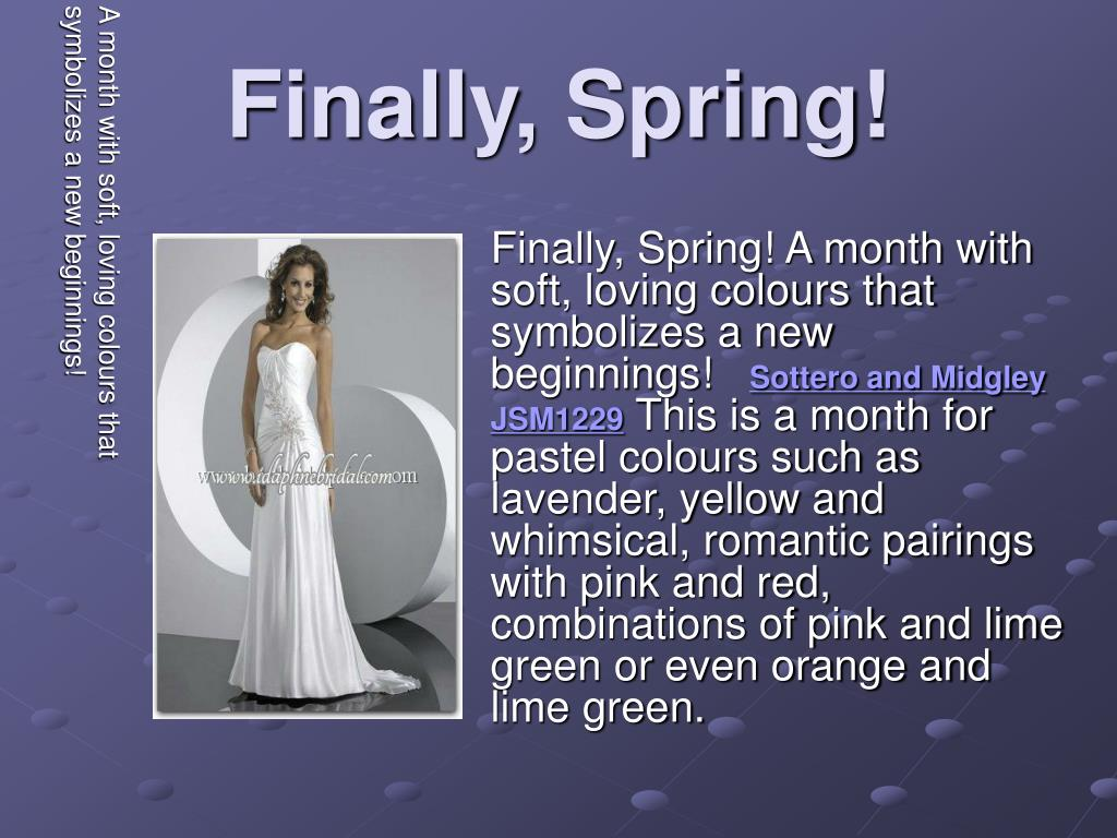 finally spring l.