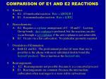 comparison of e1 and e2 reactions9