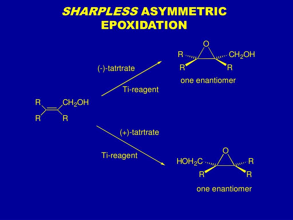 sharpless asymmetric epoxidation l.