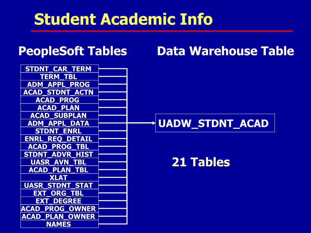 PPT - Data Warehousing at The University at Albany PowerPoint
