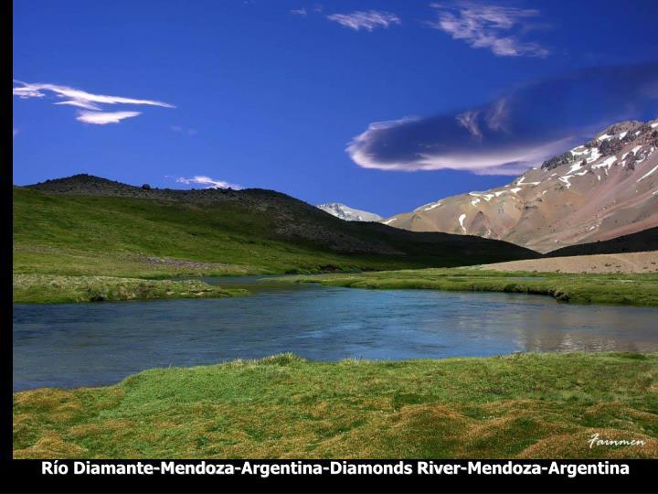 Río Diamante-Mendoza-Argentina-Diamonds River-Mendoza-Argentina